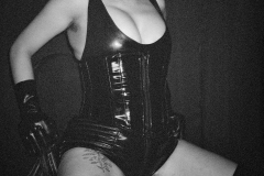Domme Discordia Sexy NYC proDomme Latex Fetish Hairy Armpits