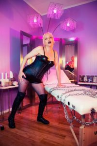 NYC Dominatrix Domme Discordia Deep Space BDSM Dungeon
